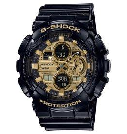 Casio G-Shock GA-140GB-1A1ER horloge zwart/goud