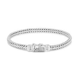 Buddha to Buddha J101 F Armband Ben Mini Silver Maat F