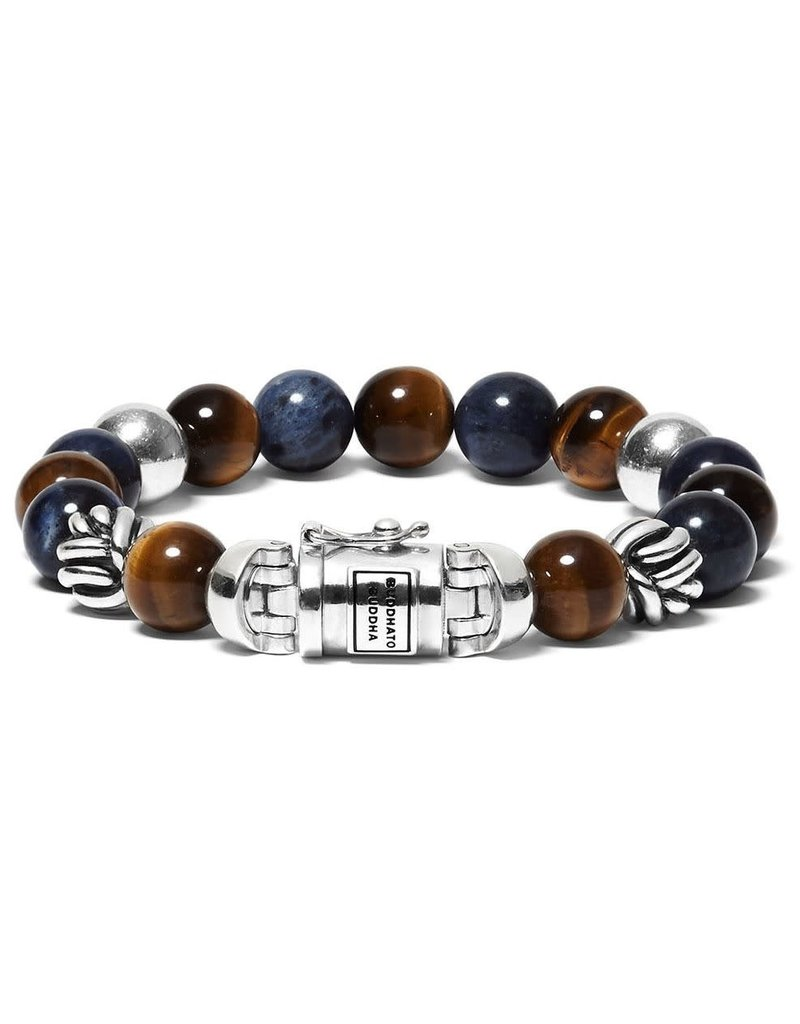 Buddha to Buddha 188MS G Armband Spirit Mix Solidate Tigereye