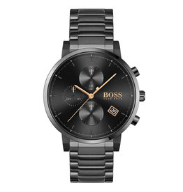 Hugo Boss HB1513780 HB horloge BL pvd plated chrono 43 mm