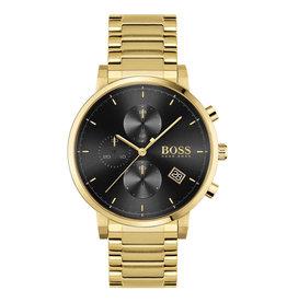 Hugo Boss HB1513781 HB horloge YG plated  43 mm Chrono zwarte wijzerplaat