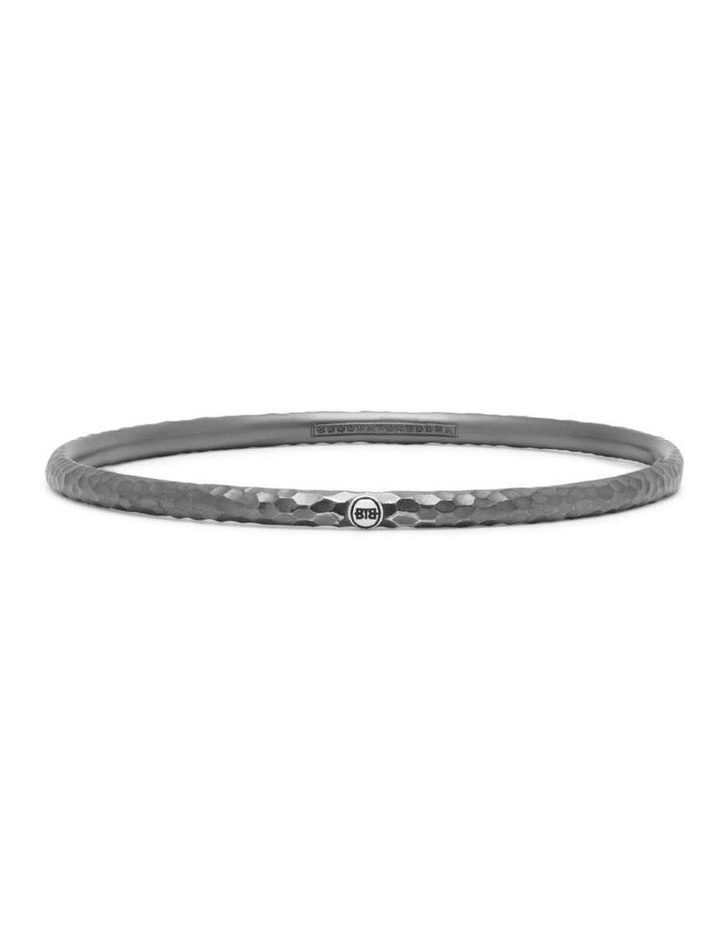 Buddha to Buddha BtoB 305 S Dunia Ben Hammered Black Bracelet