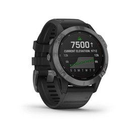 Garmin Exclusive Garmin 010-02410-15 Fenix 6 pro Solar Smartwatch Slate Gray