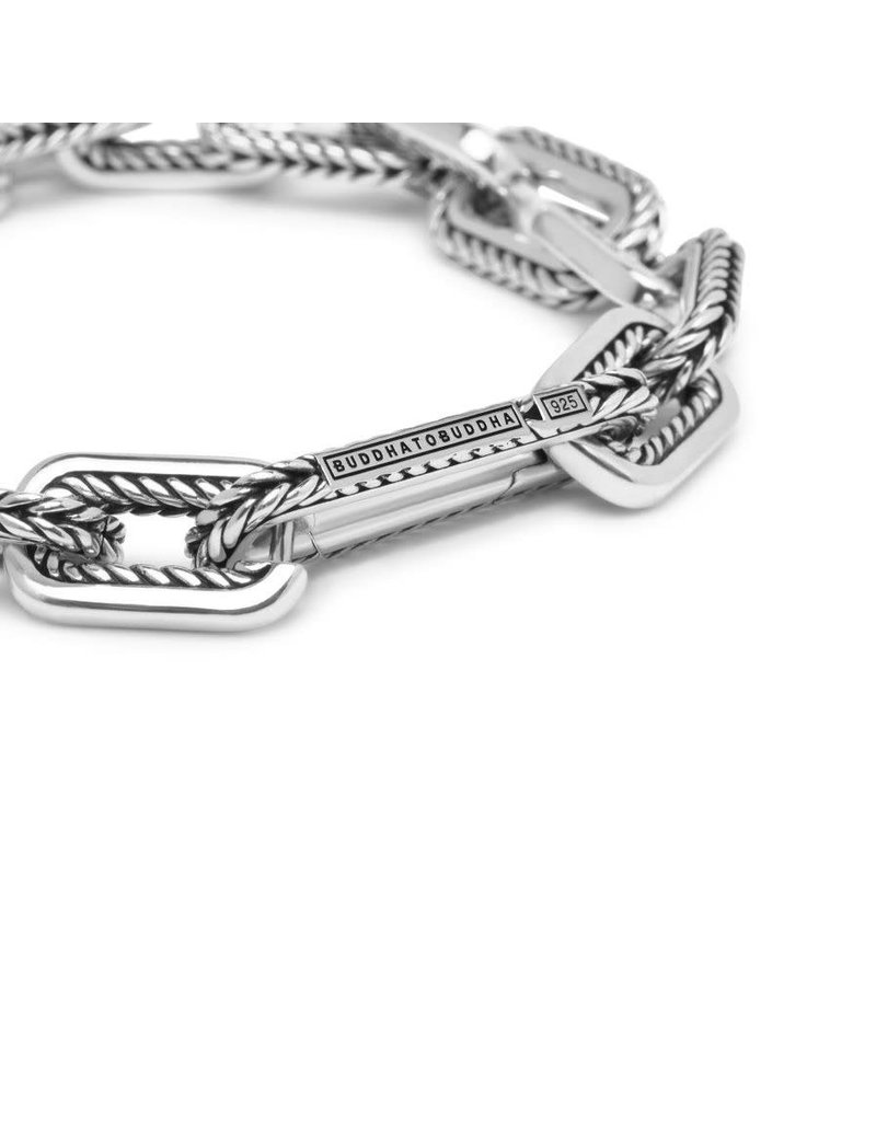 Buddha to Buddha BtoB 116 E+ Barbara Link Bracelet silver