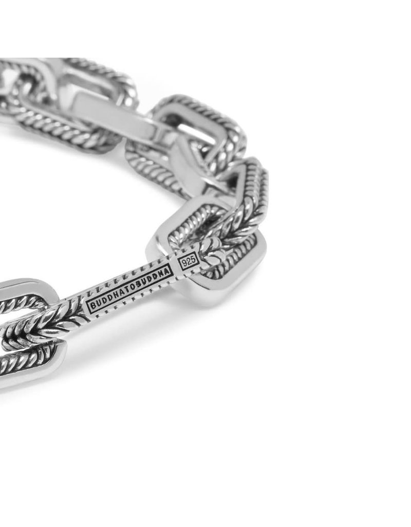 Buddha to Buddha BtoB 117 E Barbara Small Link Bracelet silver