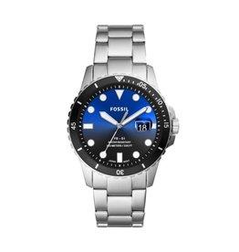 Fossil Fossil FS5668 horloge heren staal blauw