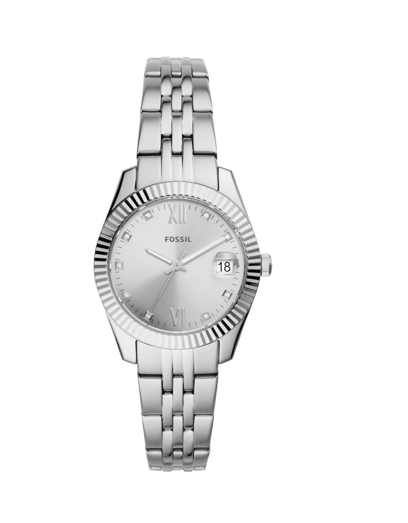 Fossil ES4897 Fossil  horloge staal