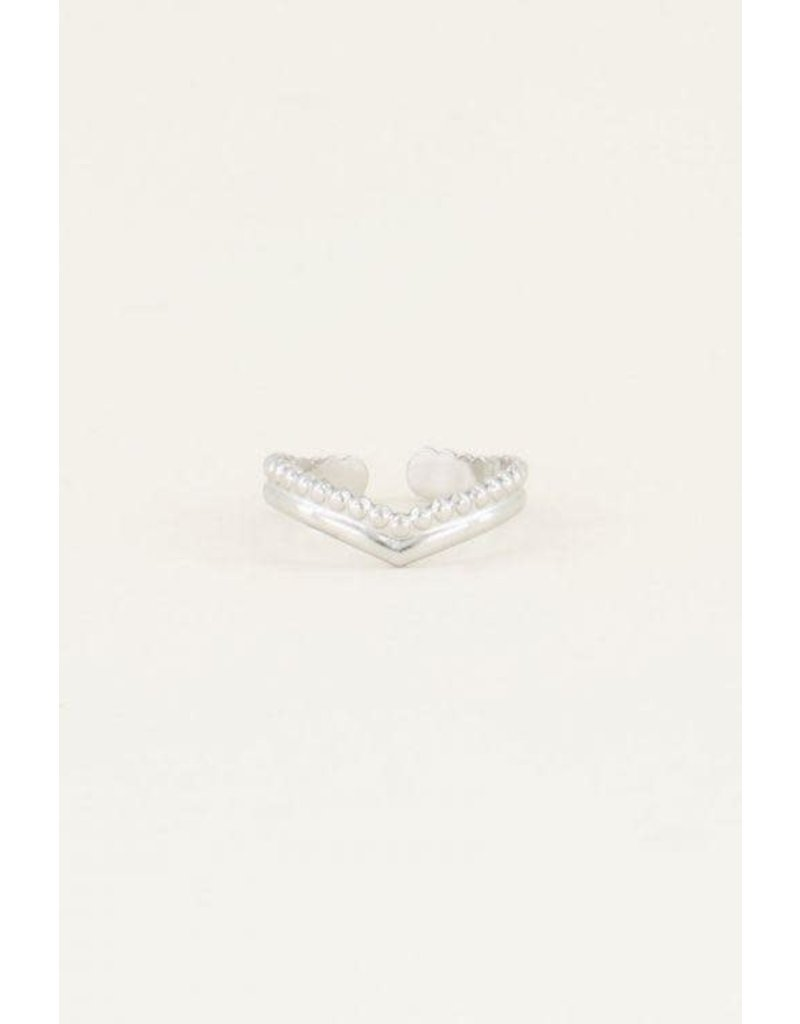 My Jewellery Ring v-vorm - Zilver