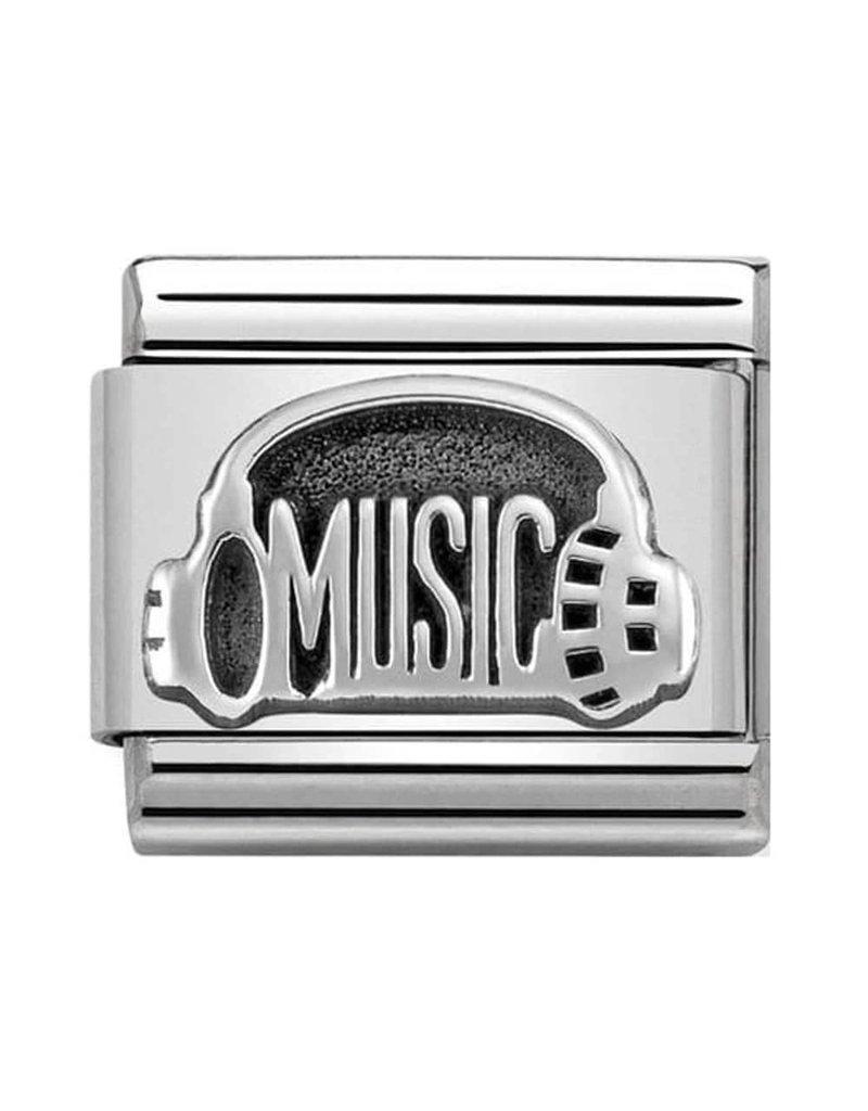 Nomination Composable 330101-34 Nomination classic zilver koptelefoon
