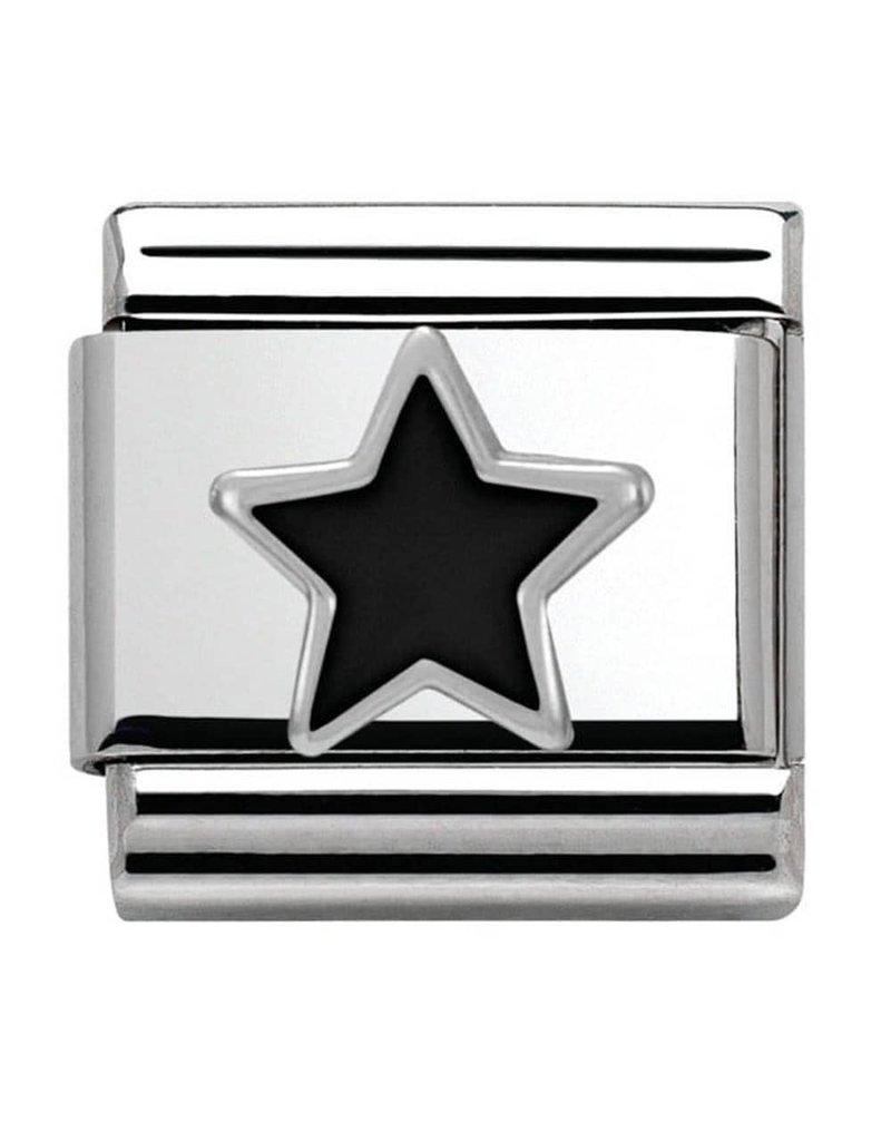 Nomination Composable 330202-05 Nomination classic zilver Black Star