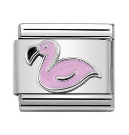 Nomination Composable 330202-43 Nomination classic zilver Flamingo