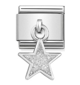 Nomination Composable 331805-02 Nomination classic zilver Charms glitter star
