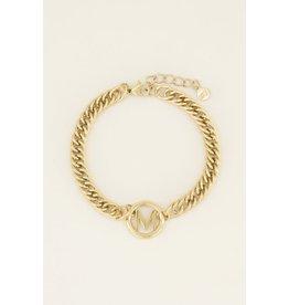 My Jewellery Armband Chunky Initials B