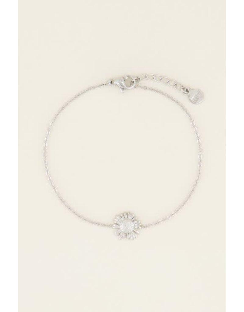 My Jewellery Armband Daisy - Zilver