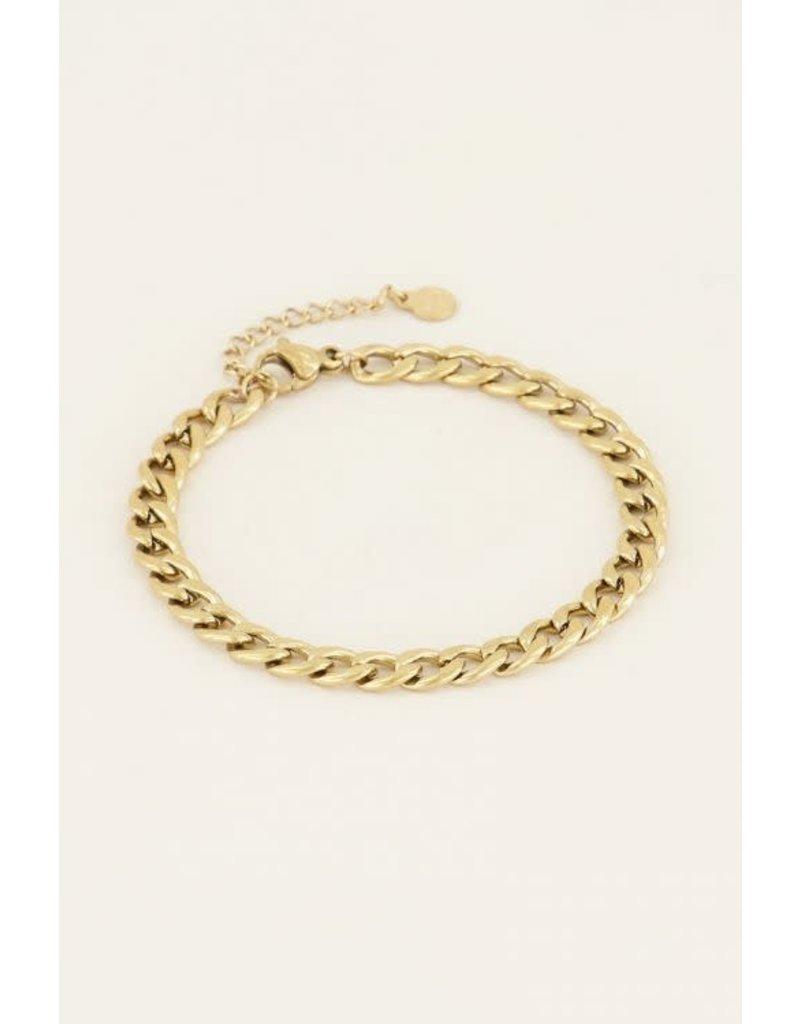 My Jewellery Armbandje Schakels - Goud