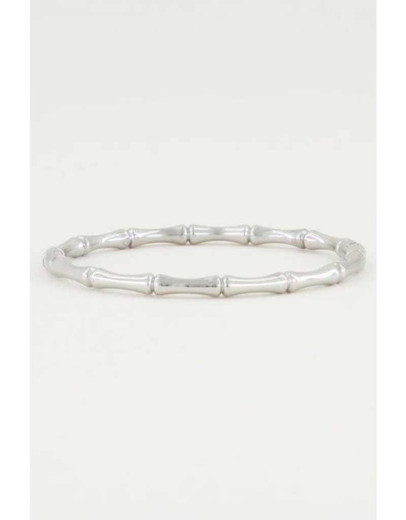 My Jewellery Armband Bangle Bamboe - Zilver