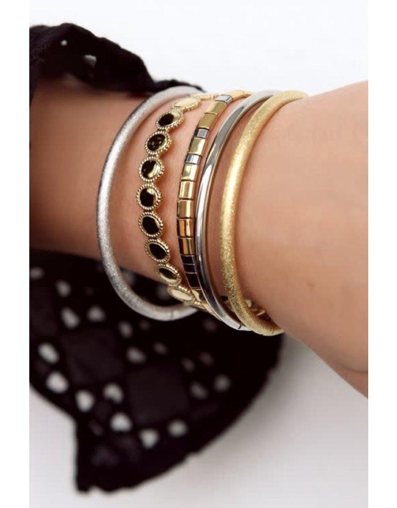 My Jewellery Armband Bangle Glimmend - Zilver
