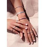 My Jewellery Armband Bangle met Bolletjes - Zilver