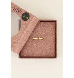 My Jewellery Geboortesteen Ring Januari - Goud