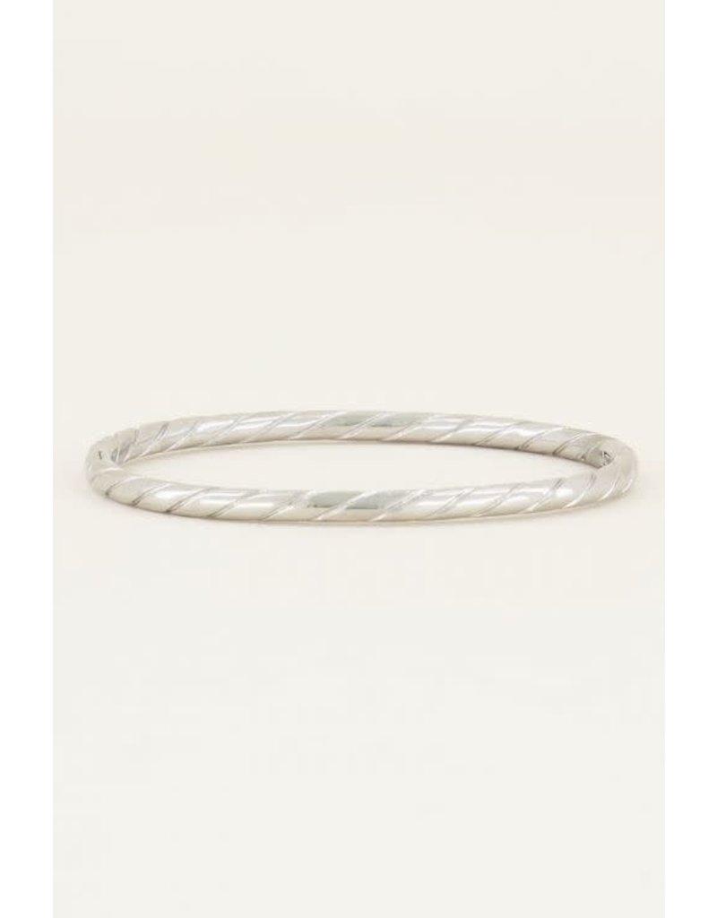 My Jewellery MJ015151500 - Bangle touwpatroon