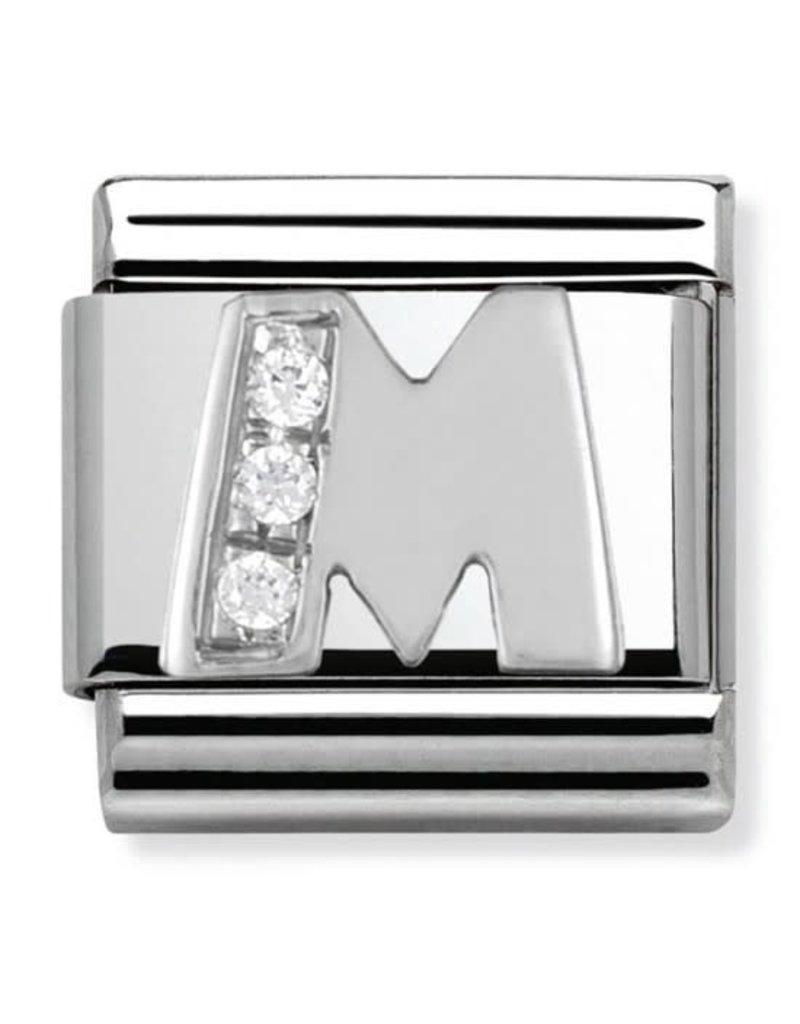 Nomination Composable 330301-13 Nomination classic zilver zirkonia M