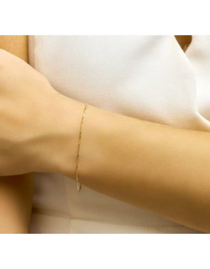Blinckers Jewelry Huiscollectie 40.22725 Armband 14 Krt goud
