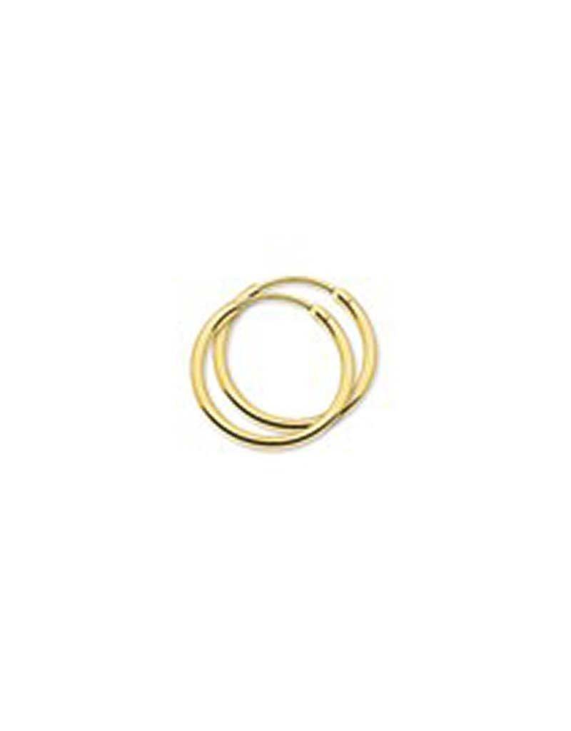 Blinckers Jewelry Huiscollectie  40.18325 Creool 14 Krt Goud