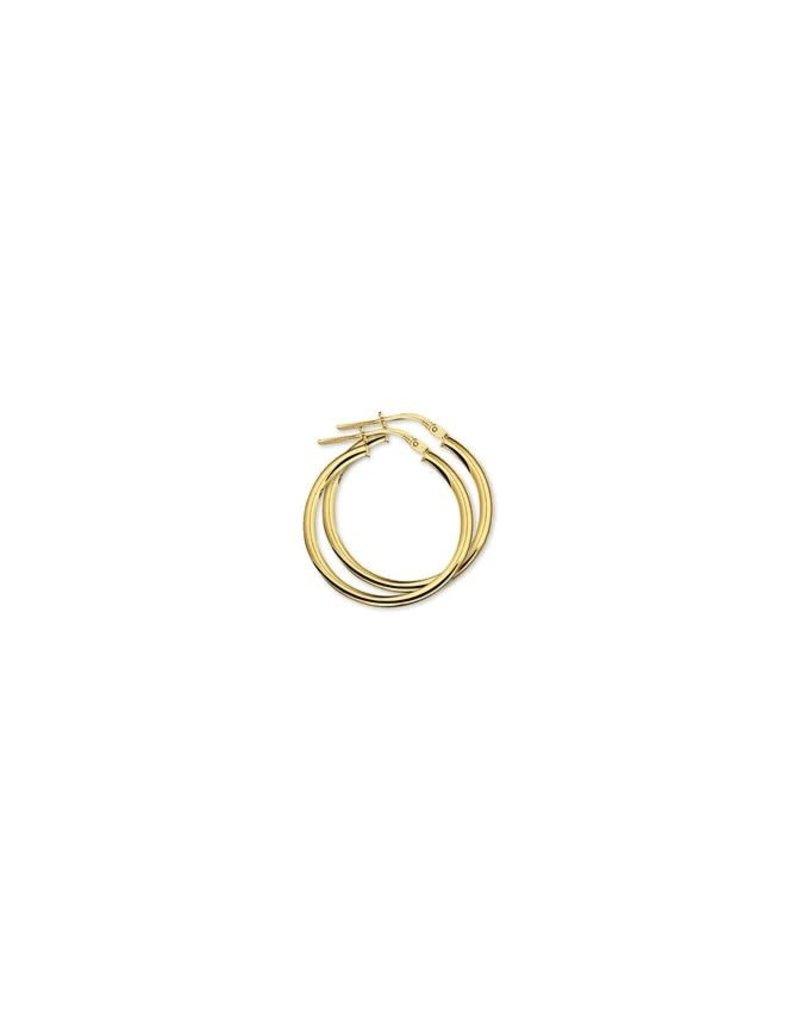 Blinckers Jewelry Huiscollectie 40.18331 Oorbellen Creool 14 krt Goud 25x2.5 mm