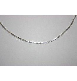 Blinckers Jewelry Huiscollectie Kasius 41.00357 Ketting 45 cm Witgoud 14Krt Venetiaans