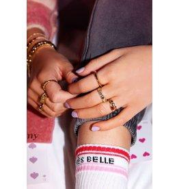 My Jewellery MJ044541500 Ring 3 hartjes zilver kleur
