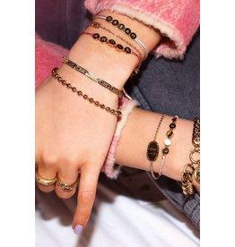 My Jewellery MJ044611500 Armband lucky words zilver
