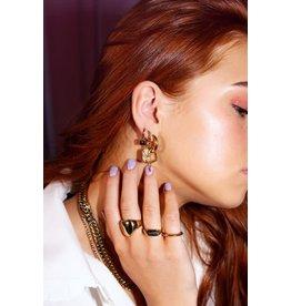 My Jewellery MJ044741200 Oorringen bedels hartje & love