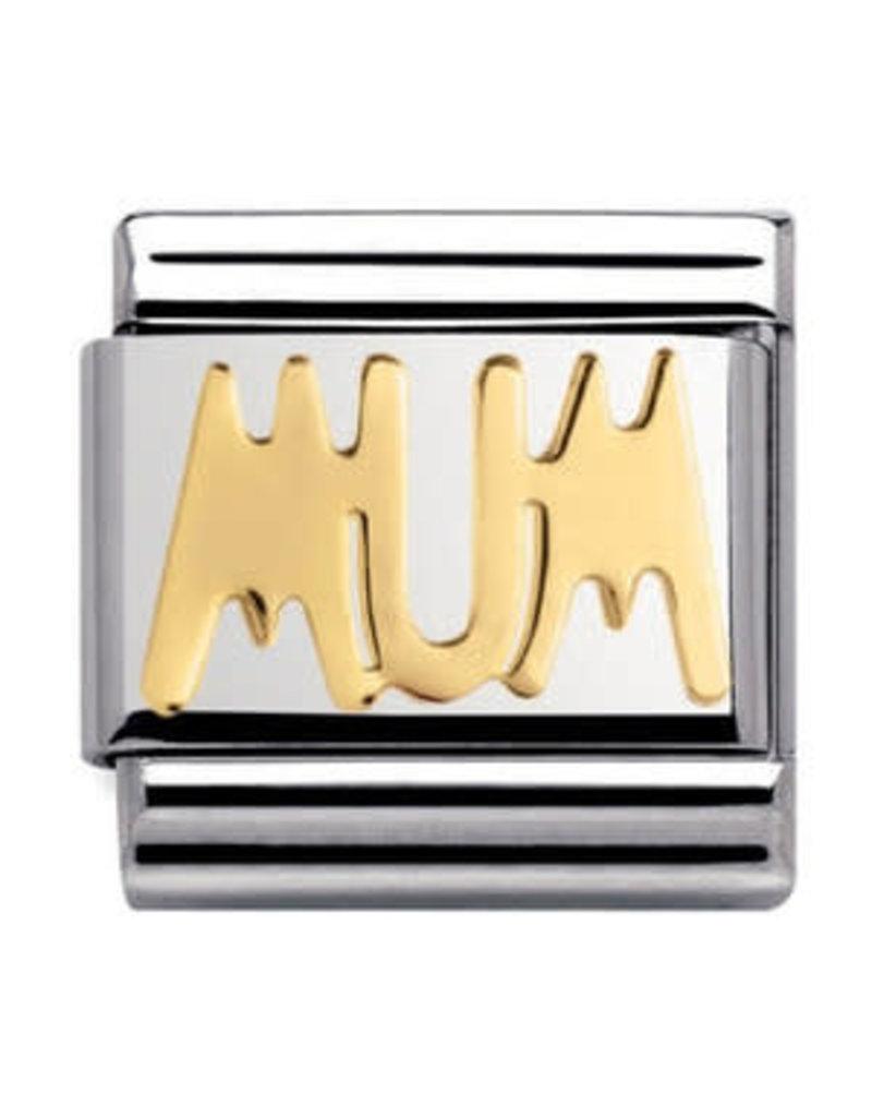 Nomination Composable 030107-14 Nomination Classic goud MUM
