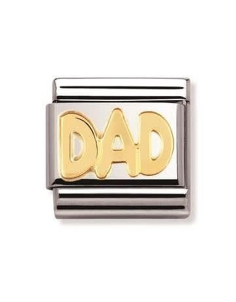Nomination Composable 030107-11 Nomination Classi goud DAD