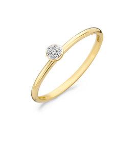 Blush Blush 1199YZI/52 Blush ring geelgoud met zirconia