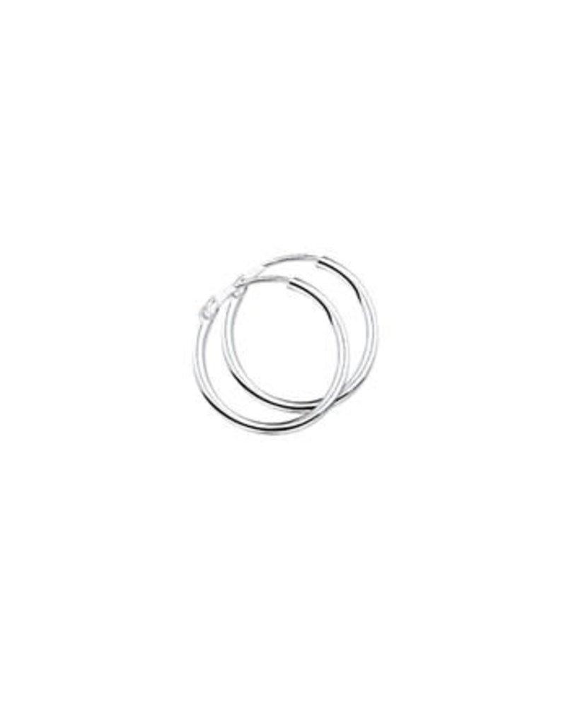 Blinckers Jewelry Huiscollectie 10.01455 Oorringen Ronde Buis