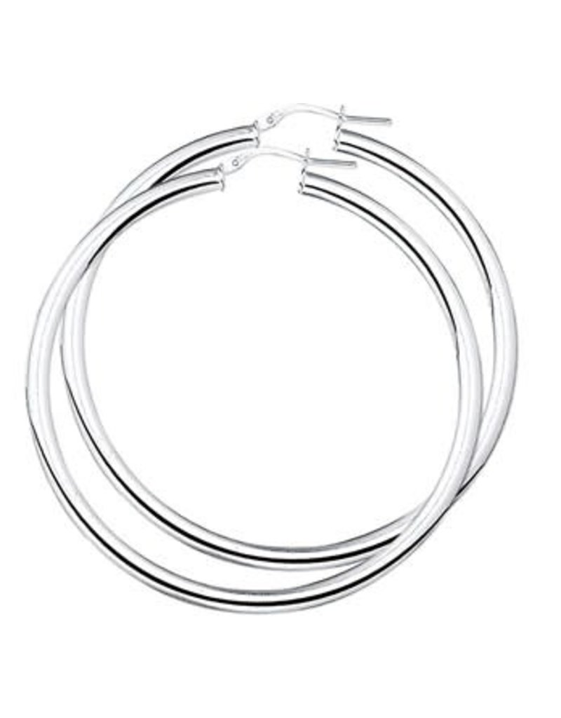 Blinckers Jewelry Huiscollectie  10.01560 Oorringen Ronde Buis