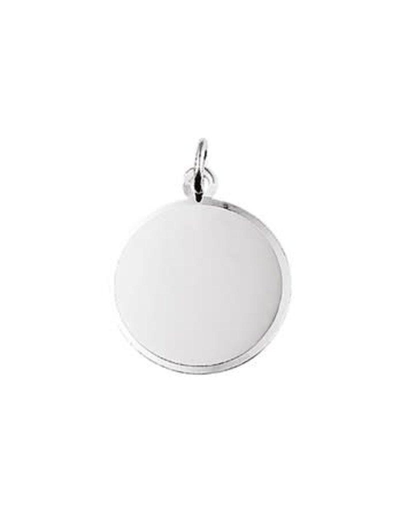 Blinckers Jewelry Huiscollectie 10.05763 Graveerhanger Gediamanteerd