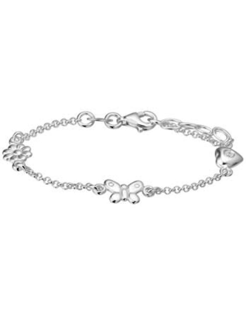 Blinckers Jewelry Huiscollectie 13.21790 Armband Diverse Bedels - 13+2cm
