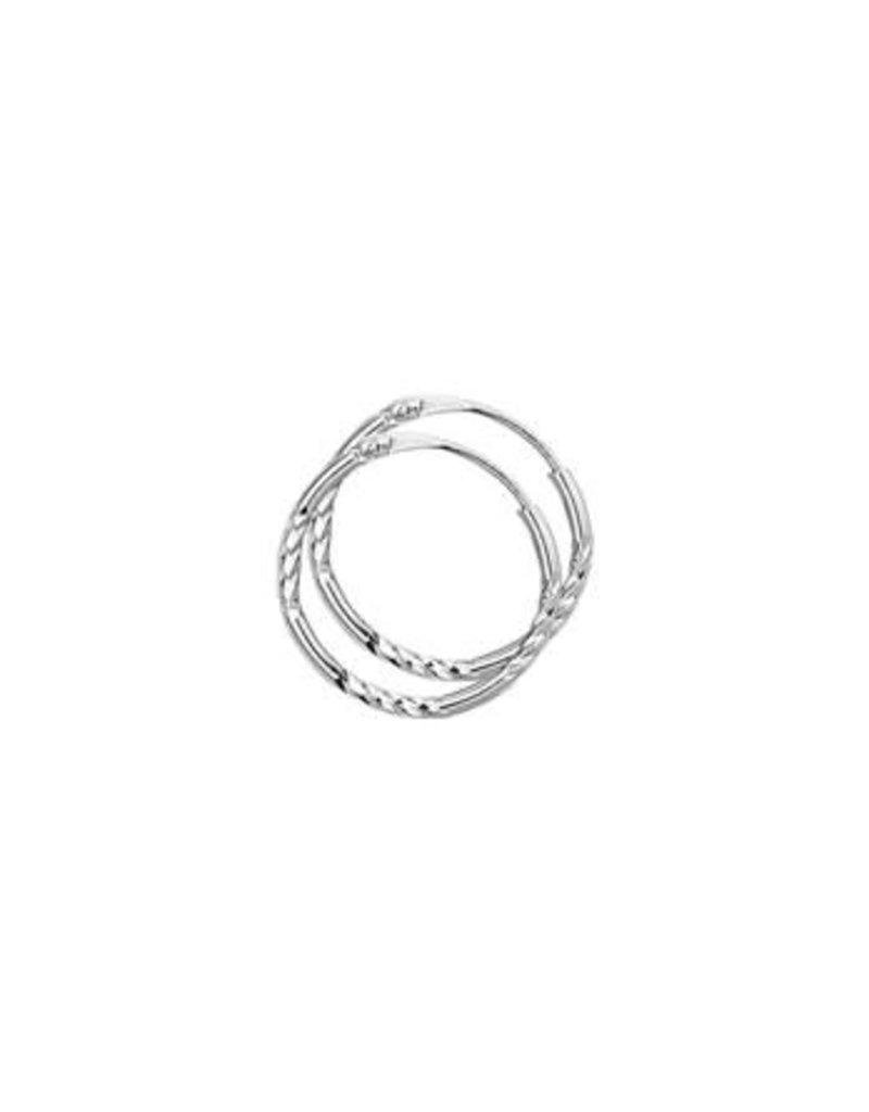 Blinckers Jewelry Huiscollectie 13.16780 Oorringen Gediamanteerd