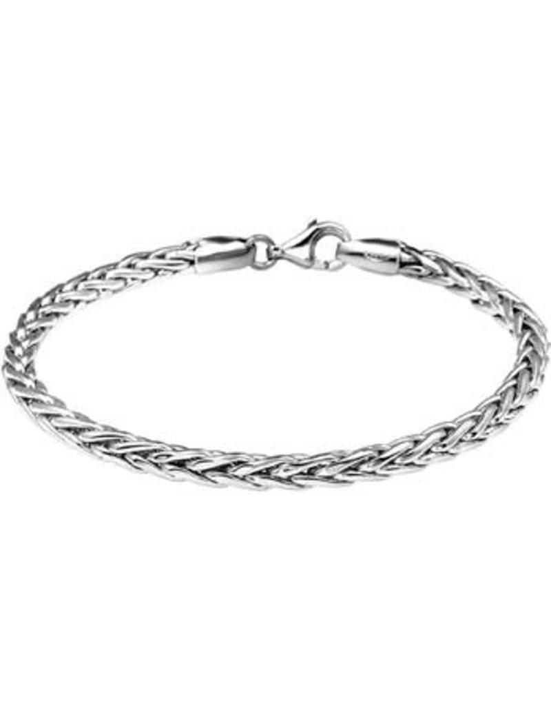 Blinckers Jewelry Huiscollectie  13.21592 Armband Vossestaart 4,0mm - 19cm