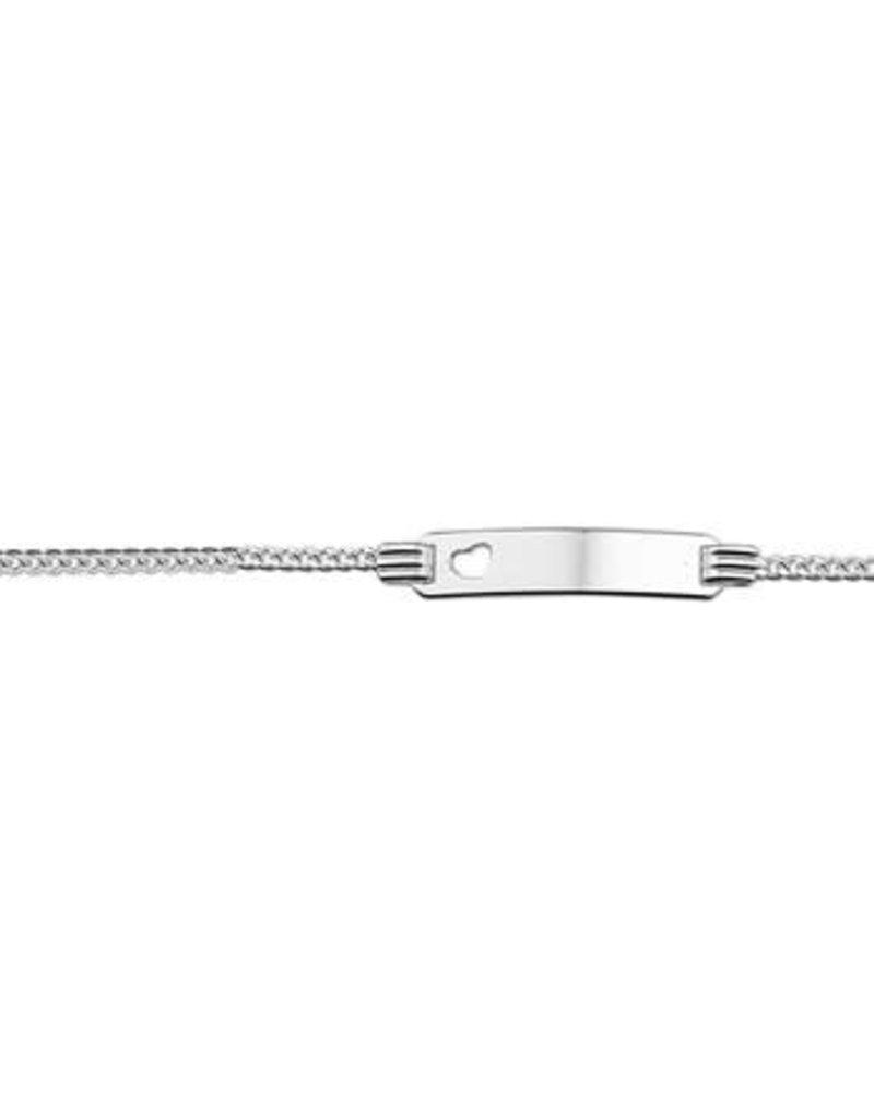 Blinckers Jewelry Huiscollectie  13.21656 Graveerarmband Hart 4,8mm - 13/15cm