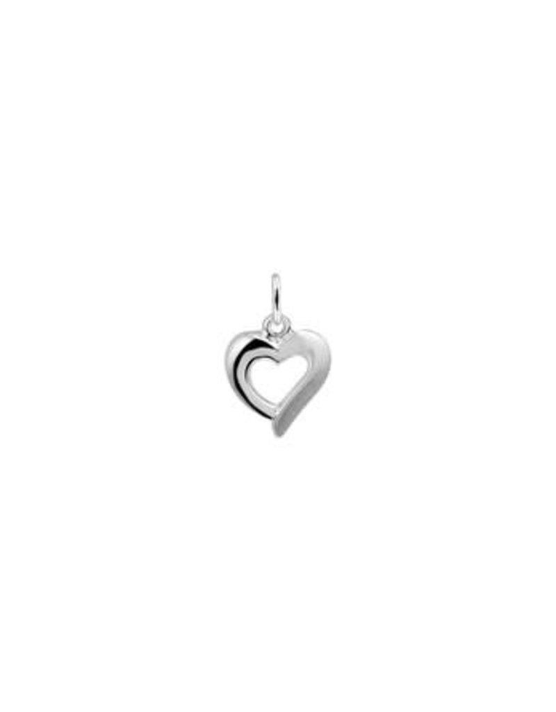 Blinckers Jewelry Huiscollectie 13.21716 Hanger Hart Poli/Mat