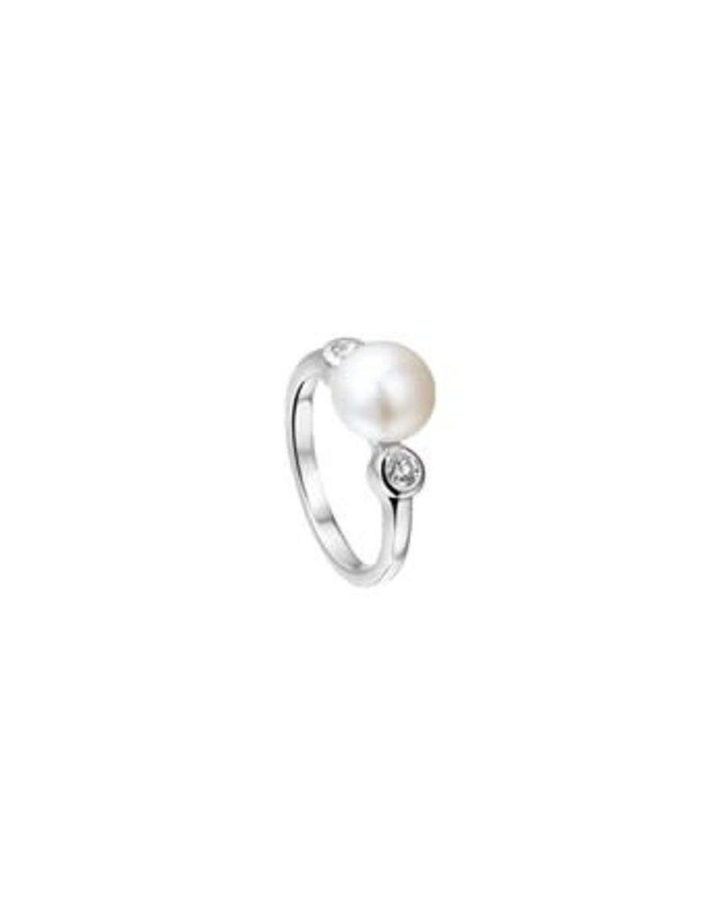 Blinckers Jewelry Huiscollectie  13.22297 Ring Parel en Zirkonia - Maat 17,75
