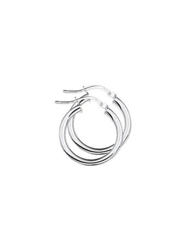 Blinckers Jewelry Huiscollectie 13.22429 Oorringen Ronde buis