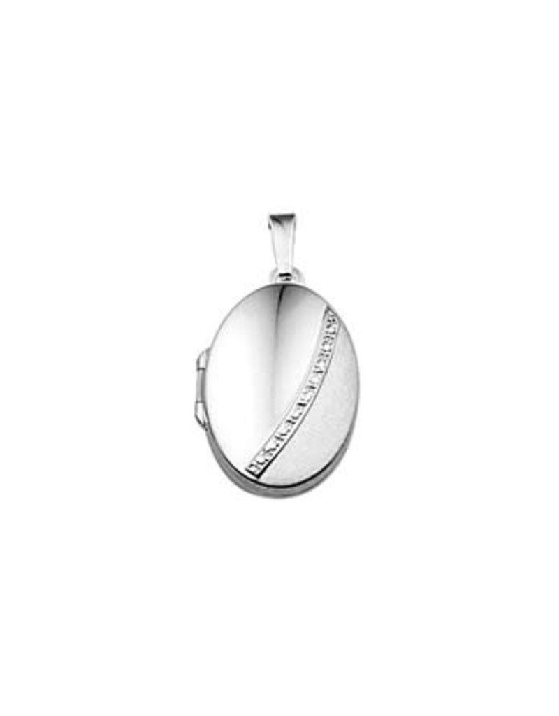 Blinckers Jewelry Huiscollectie 13.23361 Medaillon Poli/Mat