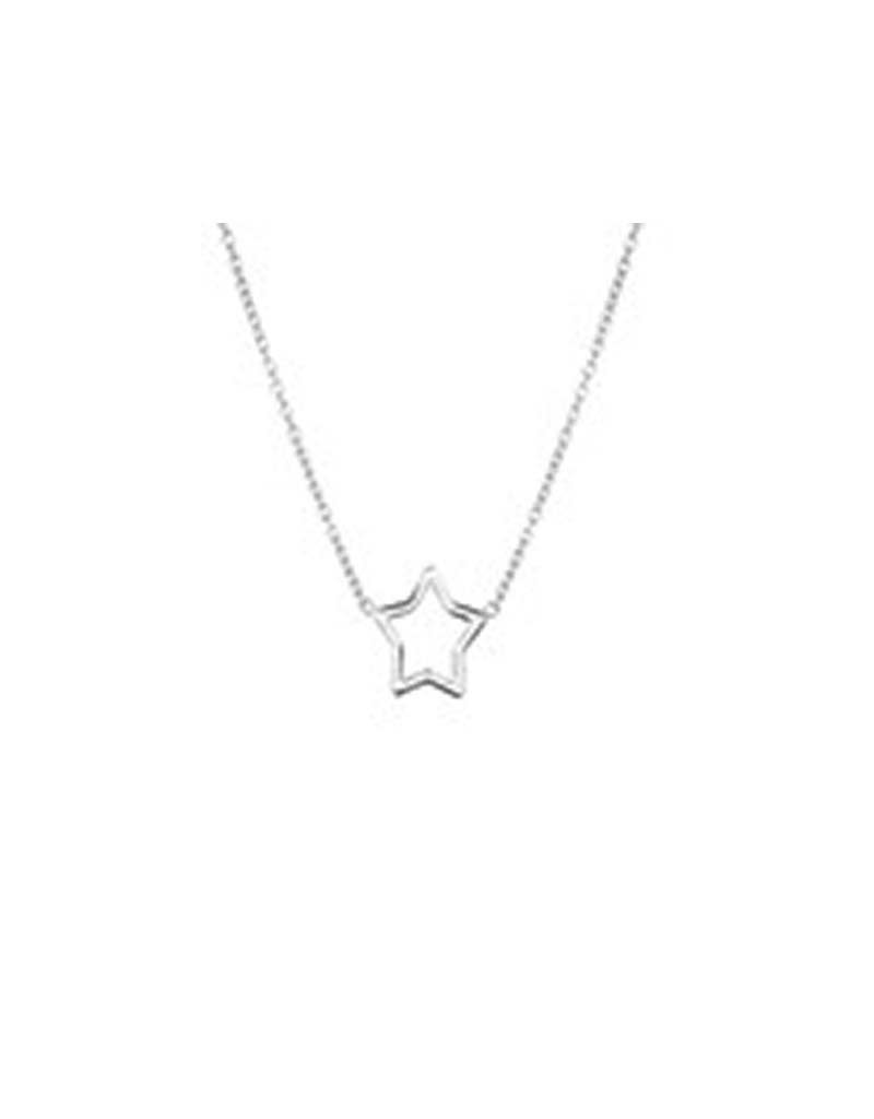 Blinckers Jewelry Huiscollectie 13.24665 Collier Ster 1,3mm - 41+5cm