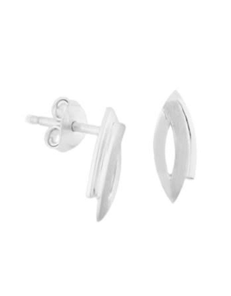 Blinckers Jewelry Huiscollectie 13.27264 Oorknoppen Poli/Mat