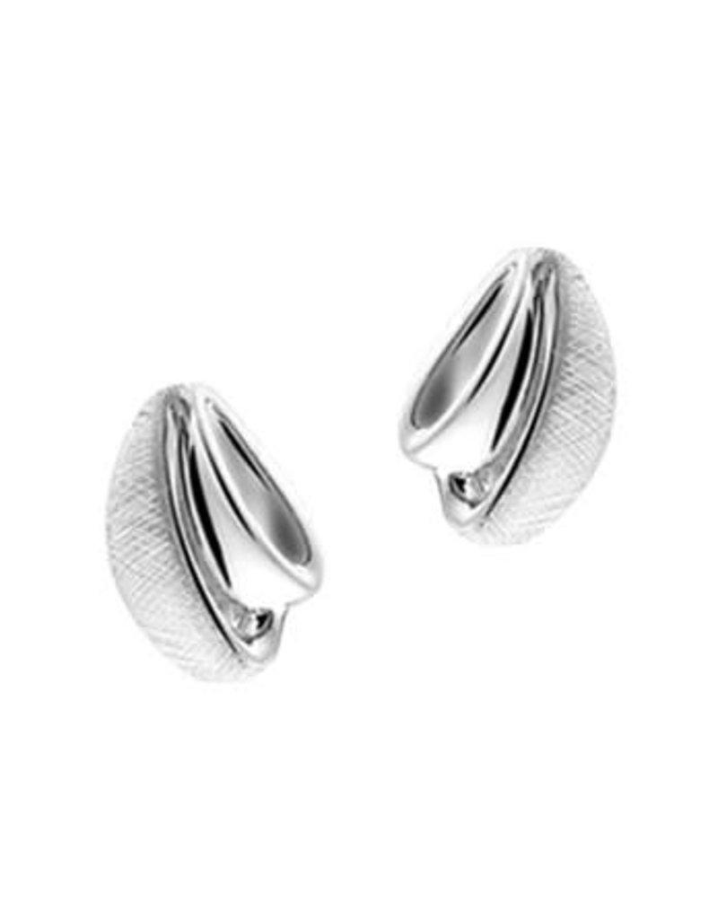 Blinckers Jewelry Huiscollectie 13.27273 Oorknoppen Gescratcht