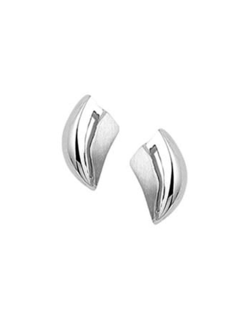 Blinckers Jewelry Huiscollectie 13.27277 Oorknoppen Poli/Mat